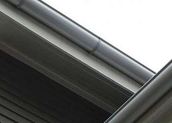 Calhas metálicas para telhados
